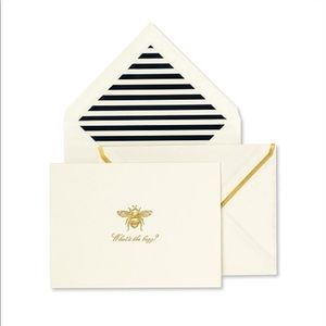 kate spade Office - 🆕 Kate Spade ♠️ What's the Buzz Notecards Set